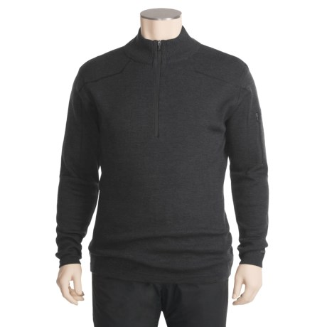 Columbia Sportswear Exploratory Sweater - Merino Wool, Zip Neck (For Men)