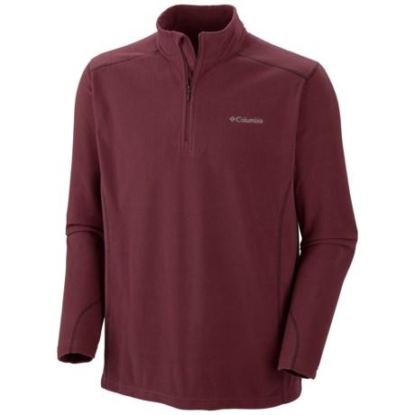 Columbia Sportswear Klamath Range II Shirt - Zip Neck (For Big Men)