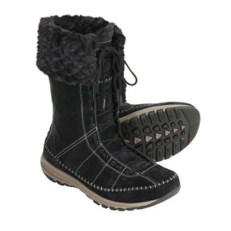 Columbia Sportswear Winter Transit Boots - Waterproof, Leather, Mid Height (For Women)
