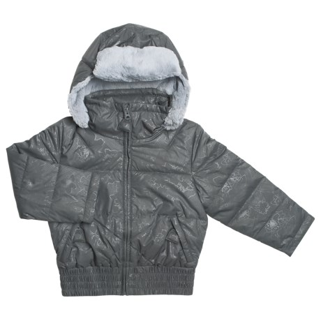 Columbia Sportswear Puffer Down Bomber Jacket - Insulated (For Little Girls)