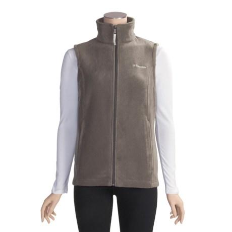 Columbia Sportswear Benton Springs Fleece Vest (For Plus Size Women)