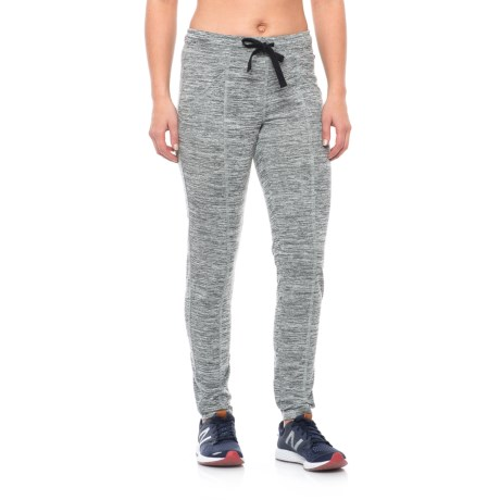 Nicole Miller Space-Dye French Terry Track Pants (For Women)
