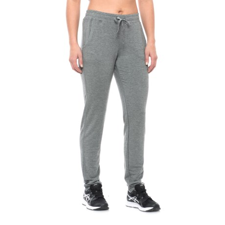 Nicole Miller Drapey French Terry Slim Lounge Pants (For Women)