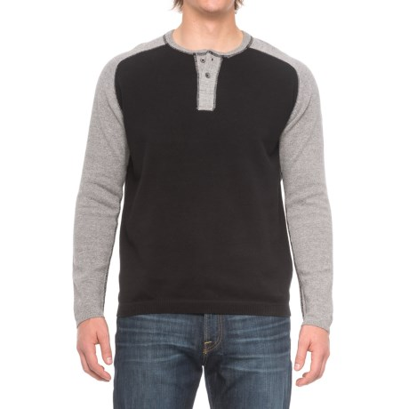 Agave Denim Carson Henley Sweater (For Men)
