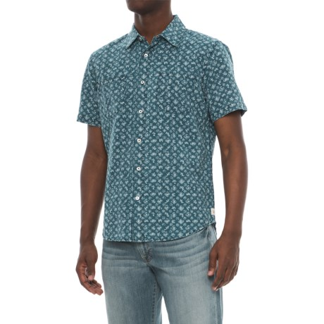 Agave Denim Denim Bougainvillea Vine Shirt - Short Sleeve (For Men)