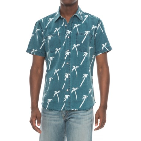 Agave Denim Denim Coachella Palm Shirt - Short Sleeve (For Men)
