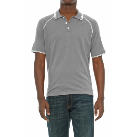 Agave Denim Watson Supima® Cotton Polo Shirt - Short Sleeve (For Men)