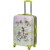 "Mia Toro Izak Italy Spinner Suitcase - Hardside, 24"""