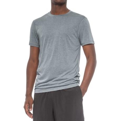 Layer 8 Heathered Training T-Shirt - Short Sleeve (For Men)