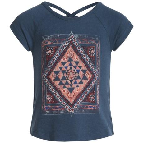 Lucky Brand Riley Diamond Graphic T-Shirt - Short Sleeve (For Toddler Girls)