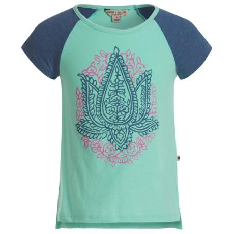 Lucky Brand Mila T-Shirt - Short Sleeve (For Little Girls)