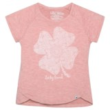 Lucky Brand Lucky Lace Slub Jersey Shirt - Short Sleeve (For Big Girls)