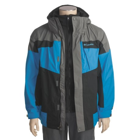 Columbia Sportswear Bugaboo Omni-Tech® Parka - Insulated, 3-in-1 (For Men)