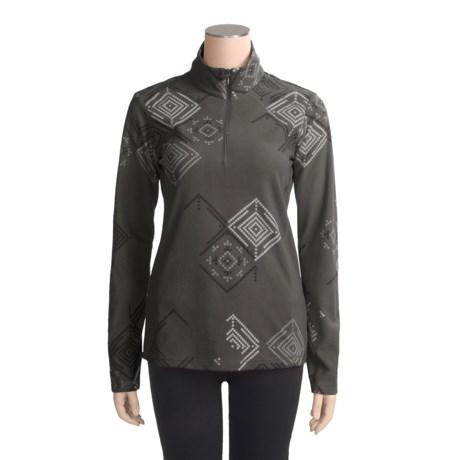 Columbia Sportswear Printed Glacial Fleece Jacket - Zip Neck (For Women)