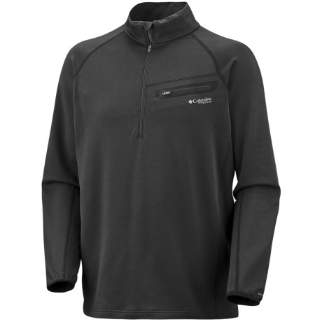 Columbia Sportswear Out and Back Shirt - Zip Neck, UPF 50, Long Sleeve (For Men)