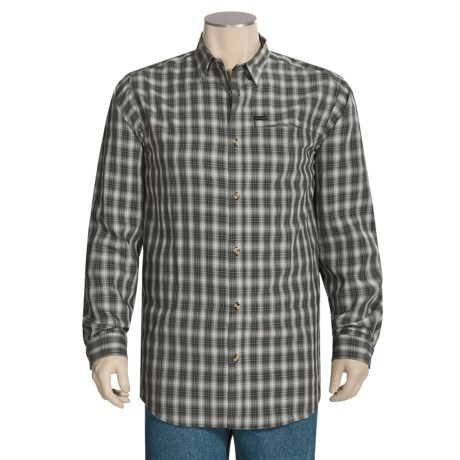 Columbia Sportswear Security Check Shirt - UPF 15, Long Sleeve (For Tall Men)
