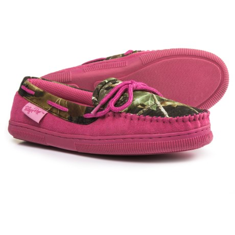 Blazin Roxx Camo Moccasin Slippers (For Women)