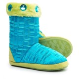 Blazin Roxx Quilt Cross Bootie Slippers (For Girls)