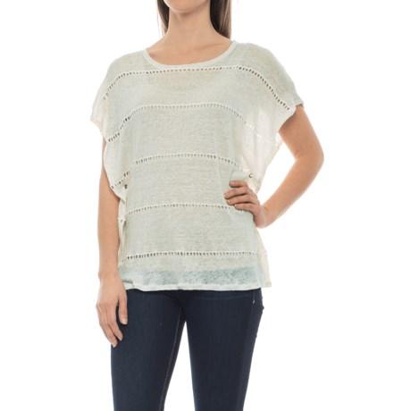dylan Sloane Stripe Shirt - Short Sleeve (For Women)