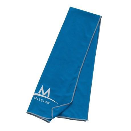 Mission EnduraCool® TechKnit Cooling Towel - UPF 50, Large