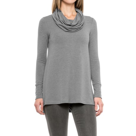 Cupio Blush Baby Terry Tunic Shirt - Long Sleeve (For Women)