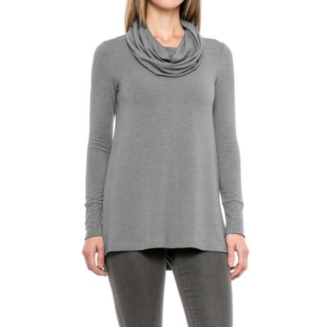 Cupio Blush Baby Terry Tunic Shirt - Long Sleeve (For Women)
