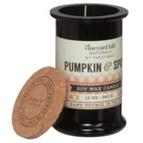Paddywax Letterpress Pumpkin and Spice Tall Soy Candle - 12 oz.