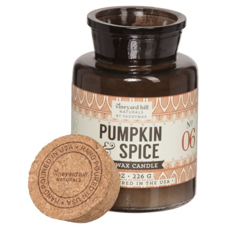 Paddywax Letterpress Pumpkin and Spice Soy Candle - 8 oz.