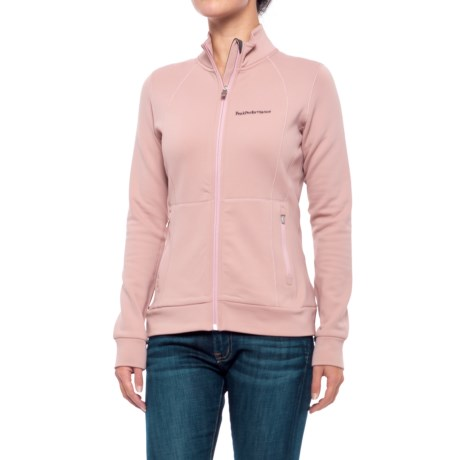 Peak Performance Midlayer Fleece Jacket (For Women)