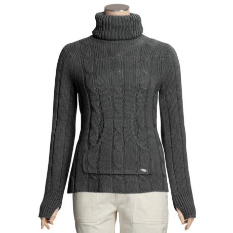Columbia Sportswear Cable Cutie Turtleneck Sweater (For Women)