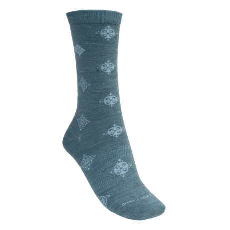 Columbia Sportswear Travel Crew Socks (For Women)