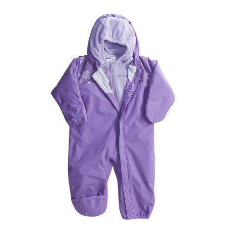 Columbia Sportswear Bugababy Interchange Bunting - Removable Fleece Liner (For Infants)