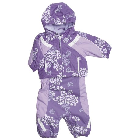 Columbia Sportswear Edie Princess Jacket and Bib Set - Insulated (For Infant Girls)