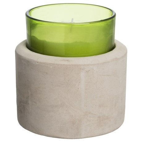 Paddywax Melange Green Tea and Grasses Candle - Soy Wax, 8 oz.