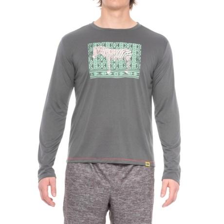 Janji Kenya Zebra Shirt - Long Sleeve (For Men)