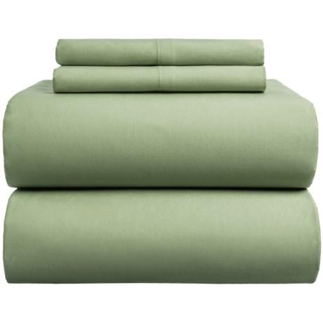 Bambeco Sateen Solid Sheet Set - King, Organic Cotton, 300 TC