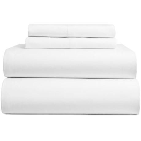 Bambeco Sateen Solid Sheet Set - Full, Organic Cotton, 300 TC