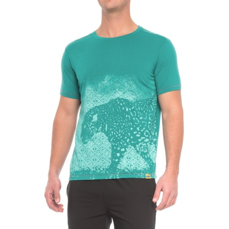 Janji Peru Jaguar Shirt - Short Sleeve (For Men)