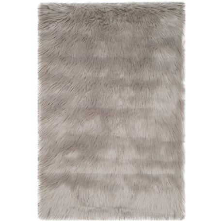 Safavieh Faux-Fur Sheepskin Rectangle Rug - 2x3'