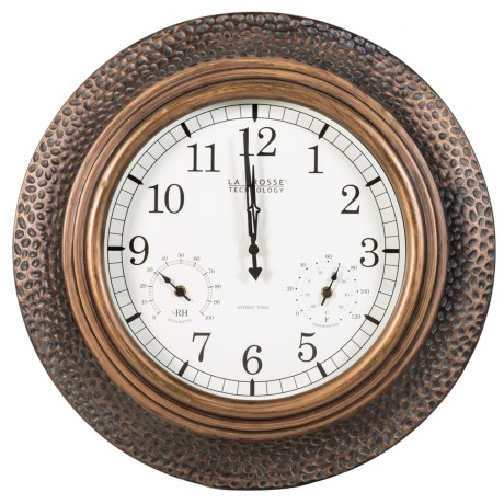 "La Crosse Technology Technology 22"" Atomic Wall Clock"