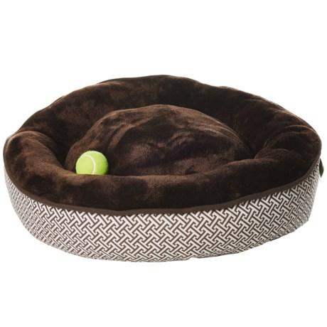 """Pet Maison Puzzle Donut Dog Bed - 27"""""""