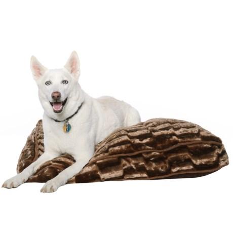 """Pet Maison Faux-Fur Dog Bed - 27x36"""""""