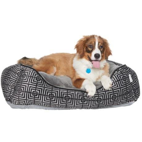 """Pet Maison Trellis Dog Bed - 24x36"""""""