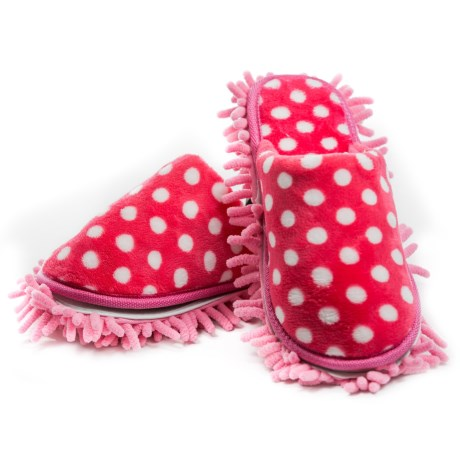 Fuller Brush Company Pretty and Pink Quick Clean Slippers