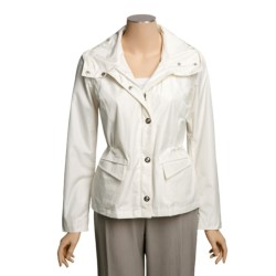 Regent Park Faux-Silk Jacket - Water and Wind Resistant (For Women)