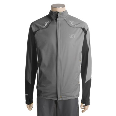 Mountain Hardwear Transition Super Power Jacket - Windstopper®, Soft Shell (For Men)