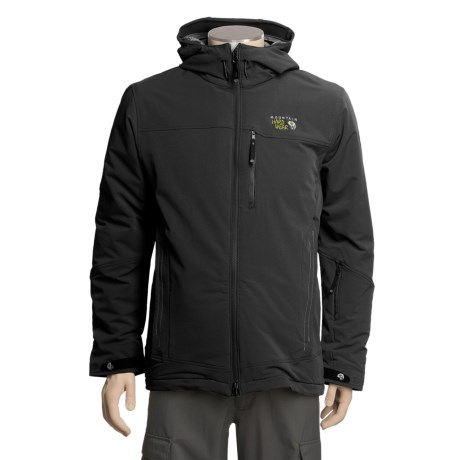 Mountain Hardwear Cutaway Jacket - Soft Shell, Insulated (For Men)
