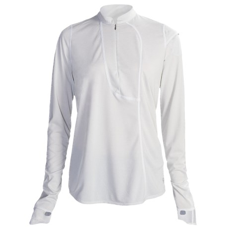 Mountain Hardwear Passage Point Pullover Shirt - Zip Neck, Long Sleeve (For Women)