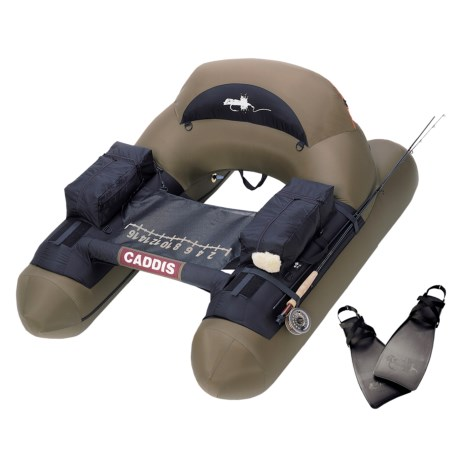 Caddis Navigator II Fly Fishing Float Tube - Fin Combo