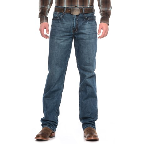 Stetson Western Jeans - Straight Leg (For Men)